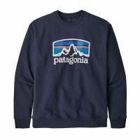 Patagonia Men's Fitz Roy Horizons Uprisal Crew Sweatshirt XX-Large Classic Navy