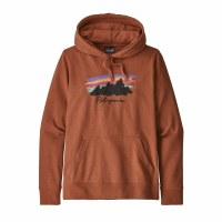 Patagonia Women's Free Hand Fitz Roy Ahnya Hoody Small Barro Brown