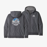 Patagonia Men's Fitz Roy Scope French Terry Full-Zip Hoody M Forge Grey