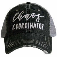 KATYDID Chaos Coordinator Women's Trucker Cap One Size Grey