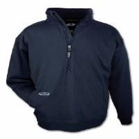 Arborwear Double Thick 1/2 Zip Sweatshirt X-Large Navy
