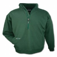 Arborwear Double Thick 1/2 Zip Sweatshirt XX-Large Forest Green