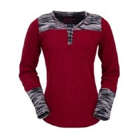 Outback Trading Company Becky Tee Small Red