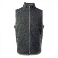 Arborwear Staghorn Fleece Vest M Charcoal