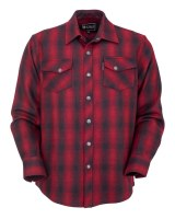 Outback Trading Company Mount Elk Big Shirt  Medium Red