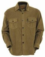 Outback Trading Company Men's Solid Big Shirt Medium Breen