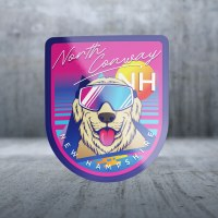 Sticker Pack Retro Future - Doggles Decal Large