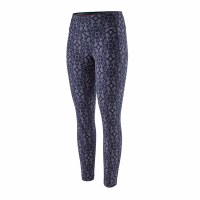 Patagonia Women's Capilene Midweight Bottoms Small Arctic Ox Geo: Classic Navy