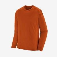 Patagonia Men's Capilene Cool Trail Shirt S Alpine Icon: Sandhill Rust X-D