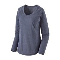 Patagonia W's L/S Cap Cool Lightweight Shirt XS Smolder Blue - Light Smolder B