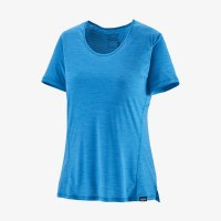 Patagonia W's Capilene Cool Lightweight Short-Sleeve Shirt XS Joya Blue - Dark Joya Blue X-D