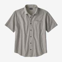 Patagonia M's Organic Cotton Slub Poplin Shirt XL End On End Forge Grey
