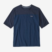 Patagonia Men's Cotton in Conversion Tee  L Stone Blue