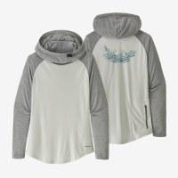 Patagonia Women's Tropic Comfort Hoody L Tail Rise: White