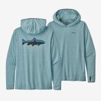 Patagonia M's Tropic Hoody II M Fitz Roy Trout: Big Sky Blue
