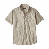 Patagonia Men's Go To Shirt Medium Rain Fern Reverse: Tailored Grey