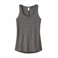 Patagonia Women's Mount Airy Scoop Tank Top Small Ink Black