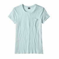 Patagonia Women's Mainstay Tee Small Atoll Blue
