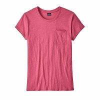 Patagonia Women's Mainstay Tee Small Reef Pink