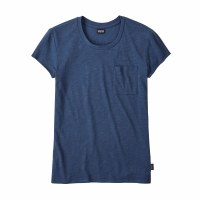 Patagonia Women's Mainstay Tee Small Stone Blue