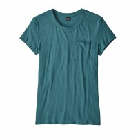 Patagonia Women's Mainstay Tee Small Tasmanian Teal