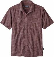 Patagonia M's Back Step Shirt M Trails: Dark Ruby