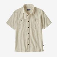 Patagonia M's Back Step Shirt  M Goshawk Dobby Pumice