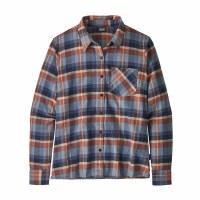 Patagonia Women's Heywood Flannel Shirt 4 Basket: New Navy