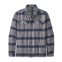 Patagonia Men's Long-Sleeved Fjord Flannel Shirt M Burlwood: Noble Grey