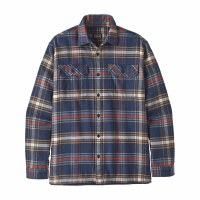 Patagonia Men's Long-Sleeved Fjord Flannel Shirt Large Defender: New Navy
