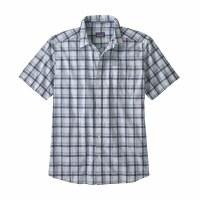 Patagonia Men's Fezzman Shirt XX-Large Granville: Atoll Blue
