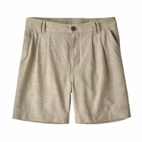 "Patagonia Women's Island Hemp Shorts - 6"" 8 Chambray:Shale"