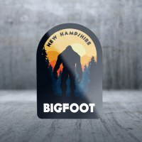 Sticker Pack Big Foot Big Man Decal Large