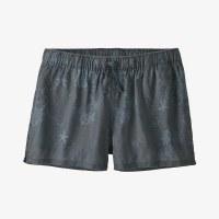 "Patagonia Women's Island Hemp Baggies Shorts - 3"" XS Coral Colony: Plume Grey"
