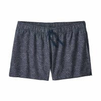 "Patagonia Women's Island Hemp Baggies Shorts - 3"" Small Goshawk Dobby: New Navy"