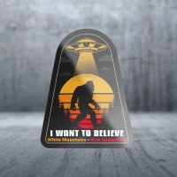 Sticker Pack Big Foot Beam Me Up Decal Large