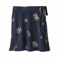 Patagonia Women's June Lake Skirt Small Sassafrass: New Navy