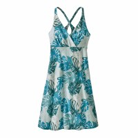 Patagonia Women's Amber Dawn Dress X-Small Tarkine Fern: Tasmanian Teal