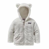 Patagonia Baby Furry Friends Hoody 6-12 Mos Birch White