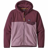 Patagonia Girls Micro D Snap T Jacket M Verbena Purple