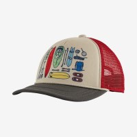 Patagonia K's Interstate Hat OS Bandito Kit: Forge Grey
