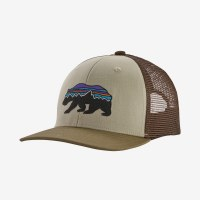Patagonia K's Trucker Hat OS Fitz Roy Bear: Pelican