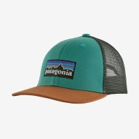 Patagonia Kids Trucker Hat One Size p-6 Logo: Light Green Beryl
