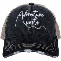 KATYDID Adventure Awaits Women's Trucker Cap One Size Black