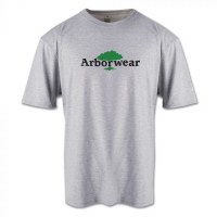 Arborwear Ovalless Logo Short Sleeve 2XL Athletic Grey