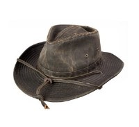 Broner It's 5:00 Somewhere Western Hat Large Distressed Brown