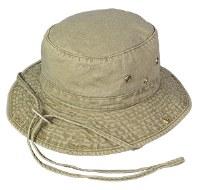 Broner Washed Cotton Floater Hat S Khaki