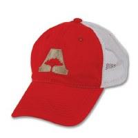 Arborwear Trucker Cap With A-Tree Logo OSFA Red
