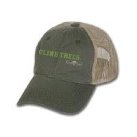 Arborwear Climb Trees Vintage Trucker Cap OSFA Olive w/Tan Mesh