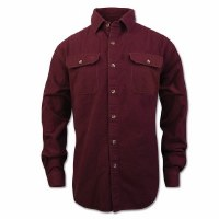Arborwear Timber Chamois Shirt Medium Maroon